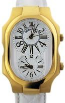 Philip Stein Teslar Gold Tone Large Mens Watch