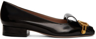 Valentino Black Garavani VLogo Club 35 Loafers