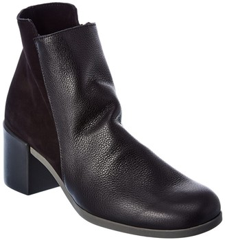 Arche Angaya Leather & Suede Bootie