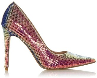 Dune London Amaretto Pointed Toe Stiletto Heel Court Shoes