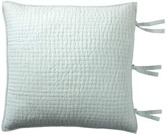 Pottery Barn Pick-Stitch Handcrafted Quilted Sham - Porcelain Blue