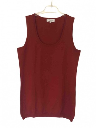 Eric Bompard Red Cashmere Top for Women