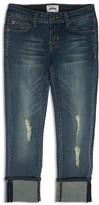 Hudson Girls' Distressed Cropped Jeans - Sizes 7-16