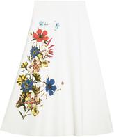 Erdem Floral Skirt