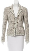 Chanel Tweed Fray-Trimmed Jacket