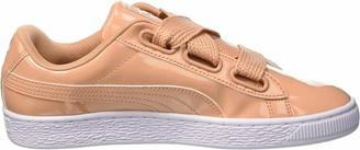 Puma Women's Basket Heart Patent Low-Top Sneakers