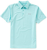 Under Armour Golf Rough Stripe Playoff Polo Shirt