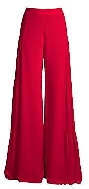 Alexis Women's Talley Silk Flare Pants