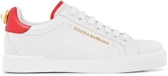 Dolce & Gabbana Portofino lettering sneakers