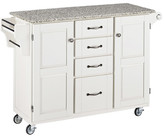 Home Styles Create-a-Cart Kitchen Island with Granite Top Base