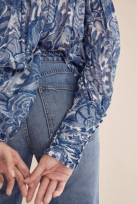 Country Road High Neck Blouse