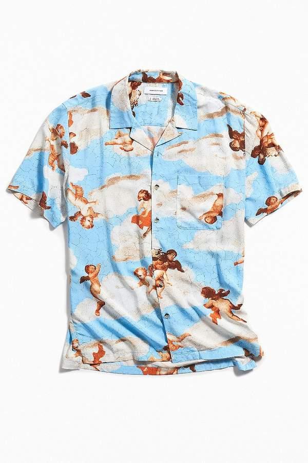 bc81eb7f Mens Short Sleeve Button Shirt Rayon - ShopStyle