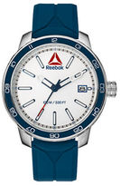 Reebok Forge 1.0 Stainless Steel and Silicone Strap Watch