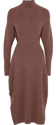 Chloé Cutout Ribbed-knit Dress