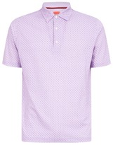 Isaia Patterned Polo Shirt