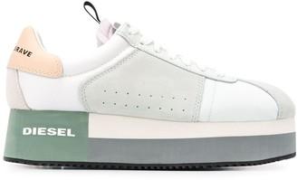 Diesel S-Pyave platform sole sneakers
