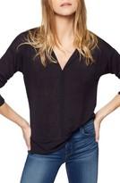 Sanctuary Petite Women's 'Hanna' Split Neck Knit Top