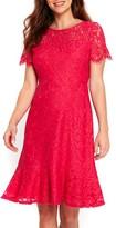 Wallis Women's Lace Peplum Hem Dress
