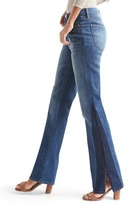 Gap AUTHENTIC 1969 two-tone perfect boot high rise jeans