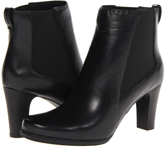 Rockport Total Motion Chelsea Boot (Black Leather) - Footwear