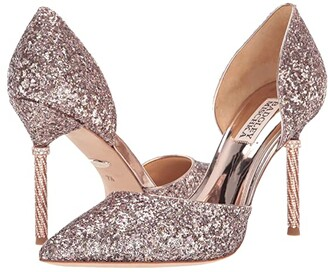 Badgley Mischka Ozara (Rose Gold) High Heels