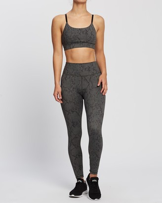 All Fenix - Women's Grey 7/8 Tights - Python 7-8 Leggings - Size One Size, XS at The Iconic