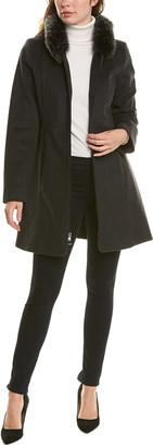 Forecaster Hooded Wool-Blend Coat