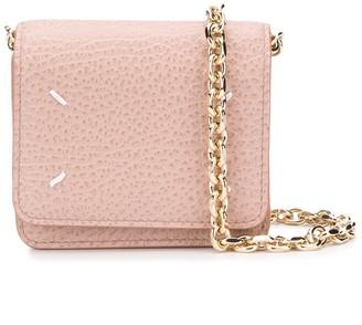 Maison Margiela Mini Four-Stitch Cross-Body Bag