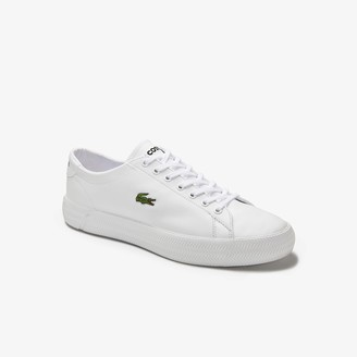 Lacoste Men's Gripshot Leather and Synthetic Trainers