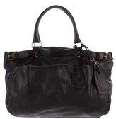 Vanessa Bruno Grained Leather Shoulder Bag