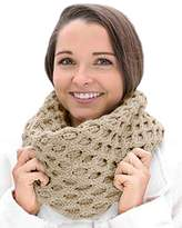 Carraigdonn Carraig Donn Merino Wool Honeycomb Irish Snood Scarf
