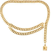 Chanel Metallic Chain Belt