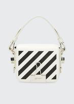 Off-White Off White Leather Diagonal Flap Bag