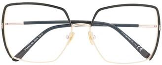 Tom Ford Oversized Colour-Block Glasses