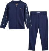 GUESS Navy Sequin Detail Tracksuit