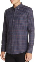Zachary Prell Plaid Flannel Regular Fit Button-Down Shirt