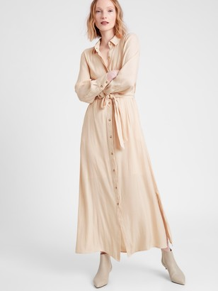 Banana Republic Maxi Shirt Dress