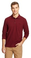 Mossimo Men's Slim Fit Polo Shirt Red