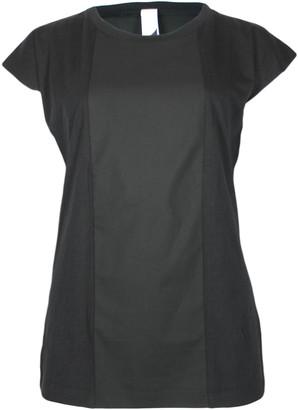 Format BASE Black Single Plain T-Shirt - S - Black