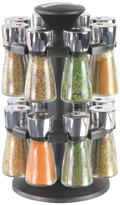 Cole & Mason Hudson 16 Jar Filled Herb & Spice Carousel/rack