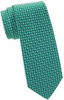 Salvatore Ferragamo Citrus Print Silk Tie