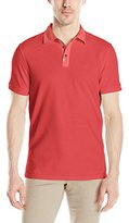 Calvin Klein Jeans Men's Garment Dye Pique Polo Shirt