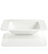 Hotel Collection Dinnerware, Bone China Square Rim Soup Bowl