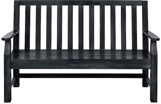 One Kings Lane Indaka Bench - Dark Slate Gray