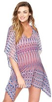 A Pea in the Pod Caftan Maternity Swim Cover-up