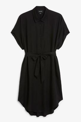 Monki Belted shirt dress
