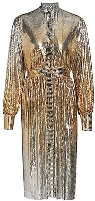 Paco Rabanne Metallic Degrade Dress