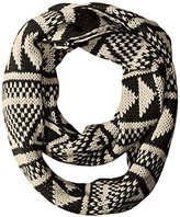 Woolrich Women's Geometric Eternity Scarf