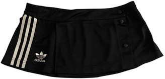 adidas Black Polyester Skirts