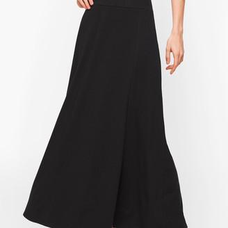 Talbots Jersey Faux Wrap Maxi Skirt